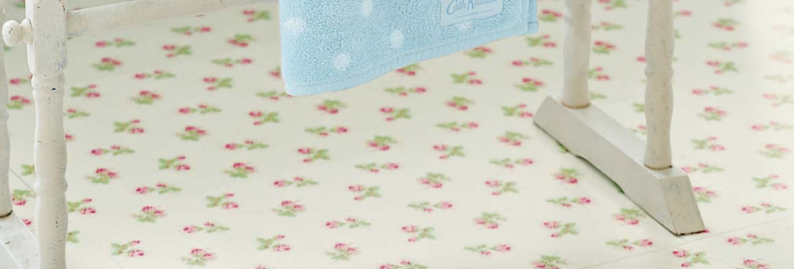 Rose Sprig White Floor by Cath Kidston