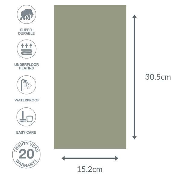 green floor dimensions