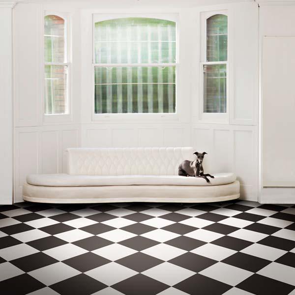 Latte White Vinyl Flooring Tile 39