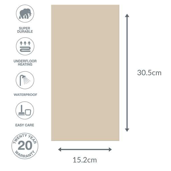 flooring dimensions