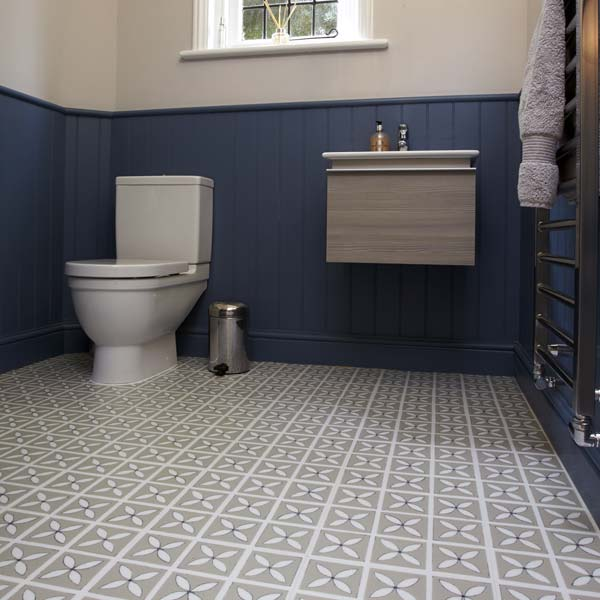 Lattice Pebble Grey Flooring Design By Dee Hardwicke For Harvey Maria