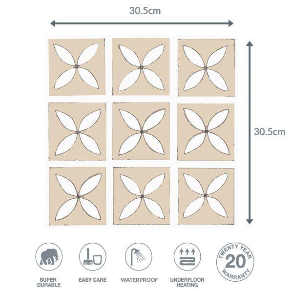 Hay Field flooring dimensions