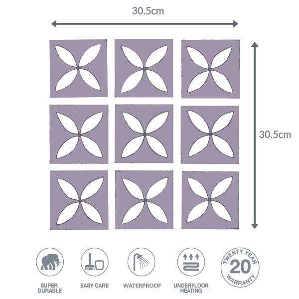 Heather floor dimensions