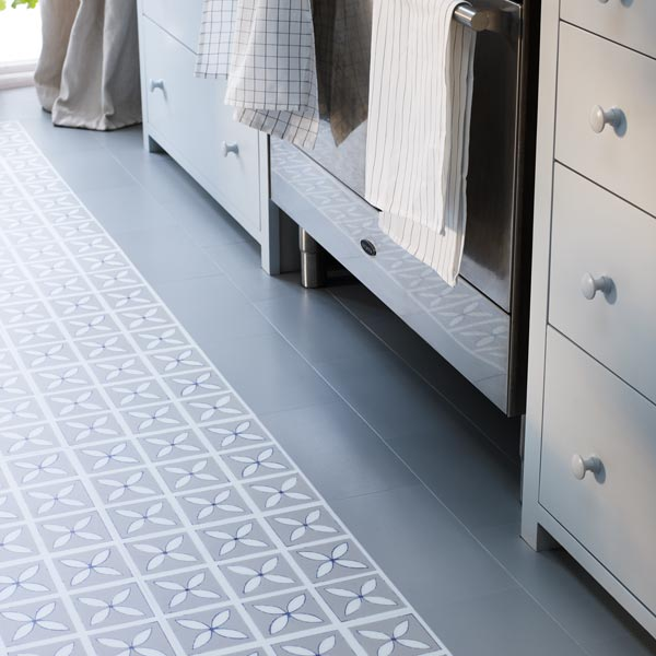 Lattice Pebble Grey Lvt Floor