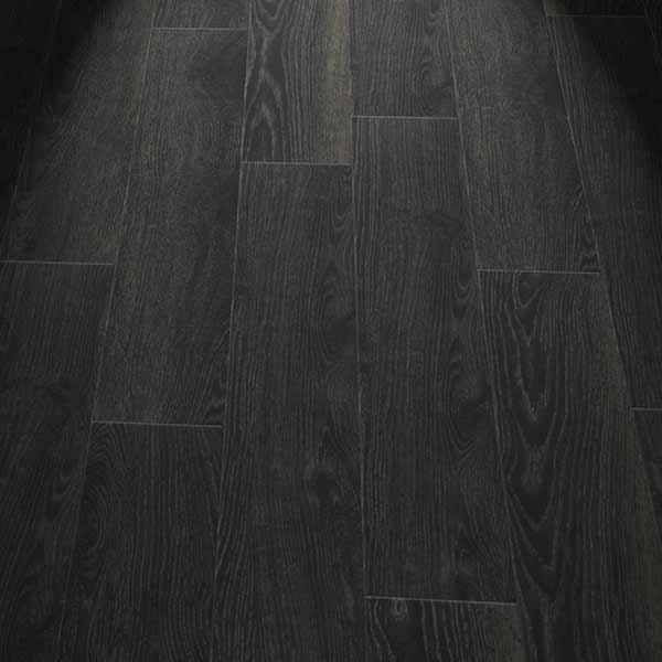 black wood effect planks