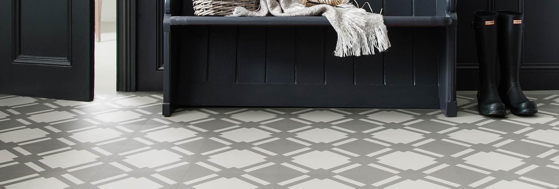 hallway flooring idea - wood effect vinyl