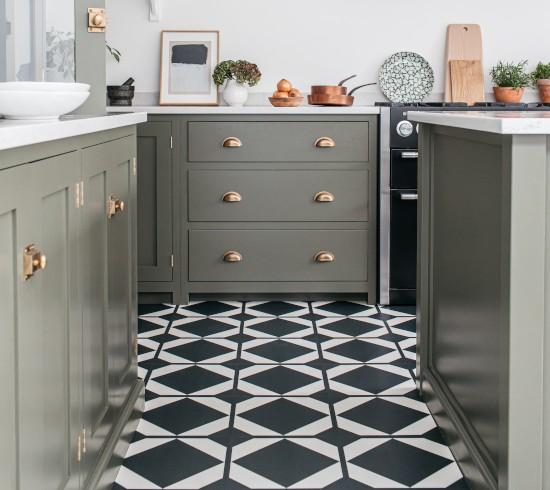 patterned luxury vinyl floor tiles  harvey maria