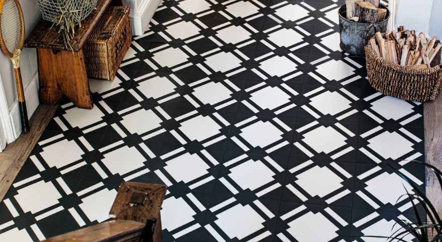 Check Slate Hallway Floor