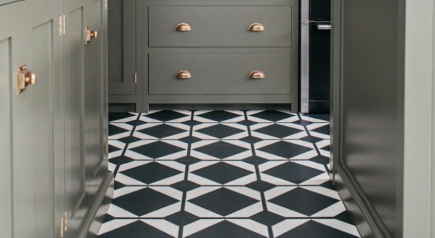 Kitchen Pattern Floor