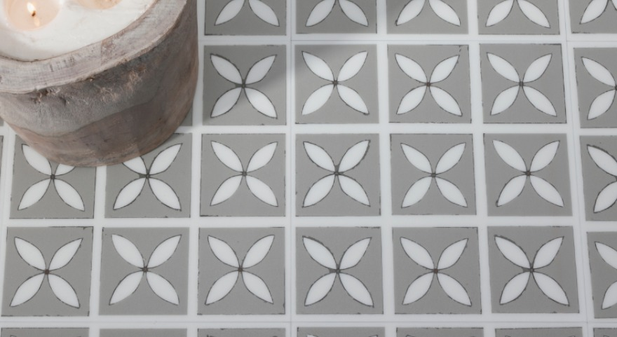 Mist Neutral Pattern Flooring