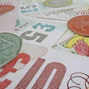 custom printed money flooring