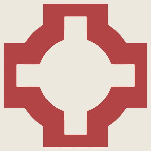 single red floor tile