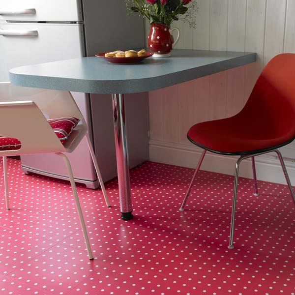 Spot Red Flooring Design Cath Kidston