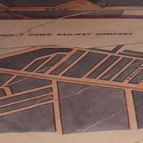 custom pritned map tile