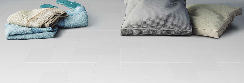 Little Bricks grey vinyl flooring