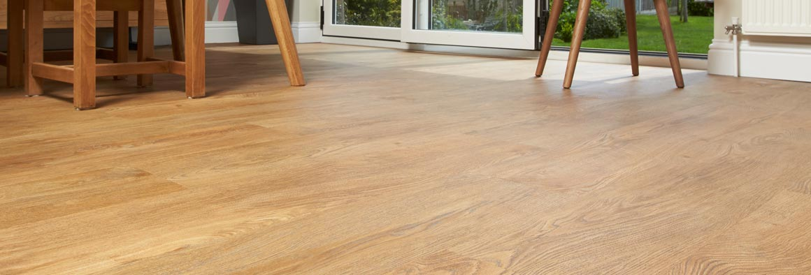 Natural Oak Wood Vinyl Floori