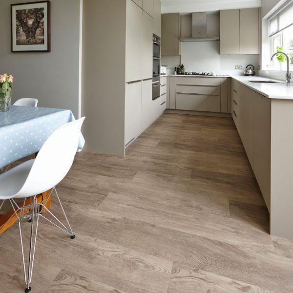 aged oak neutral kitchen