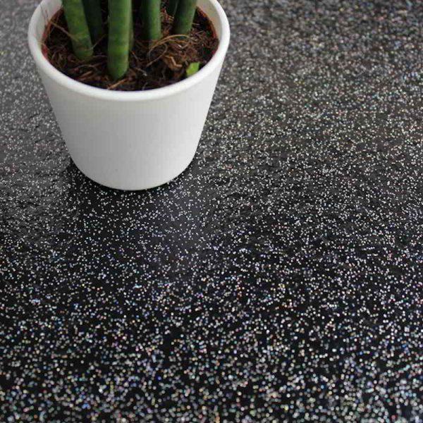 black-sparkly-galaxy-modern-flooring-ideas-sparkle-contemporary-kitchen