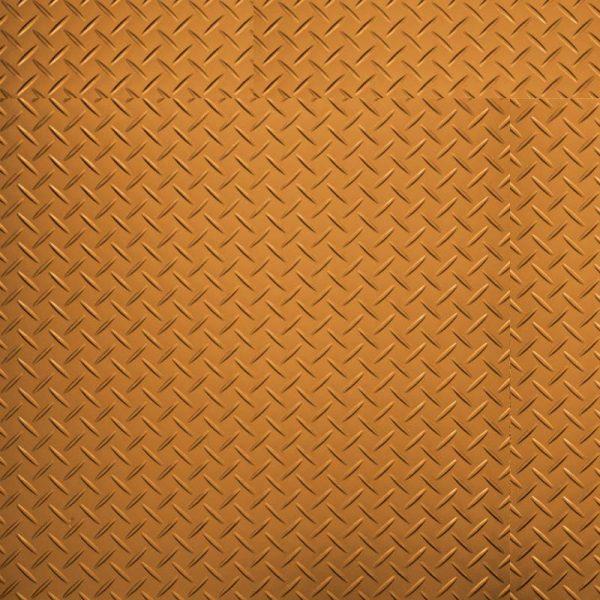 orange tread plate vinyl floor samples