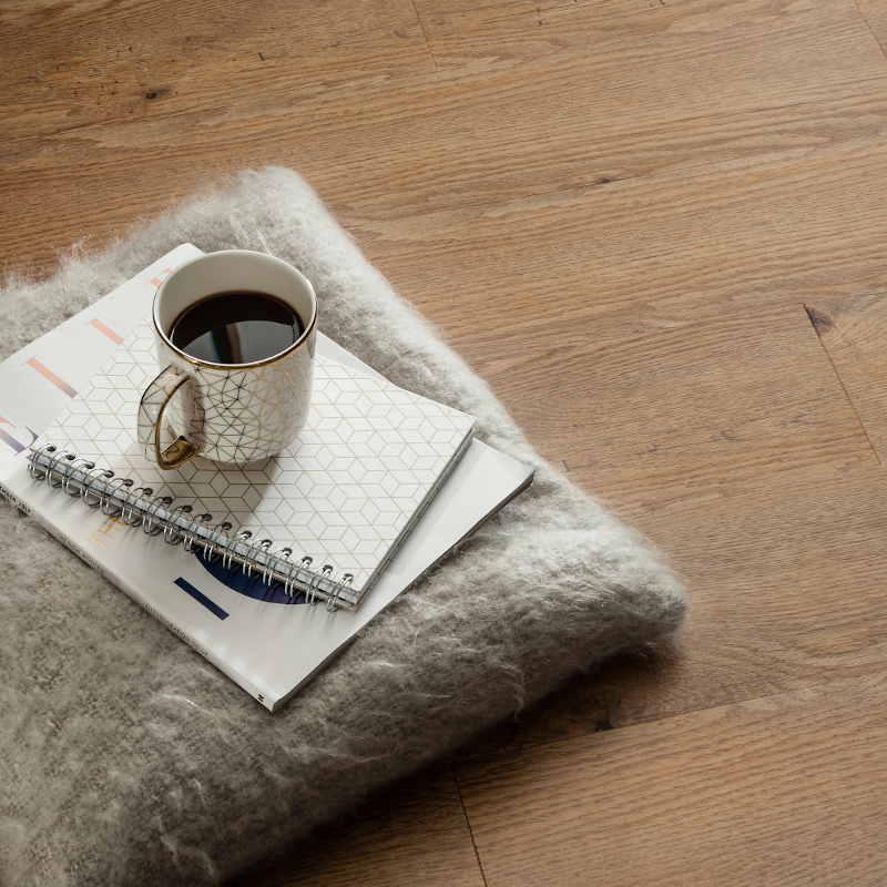 fumed english oak floor