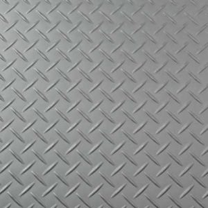 Silver Treadplate Floor