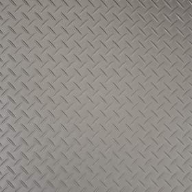 silver treadplate vinyl flooring