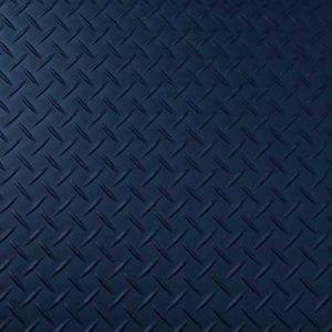 blue treadplate lvt