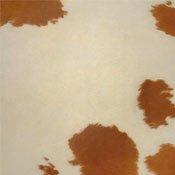 brown cowhide printed floor tile