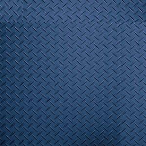 blue studded tread plate floor tiles