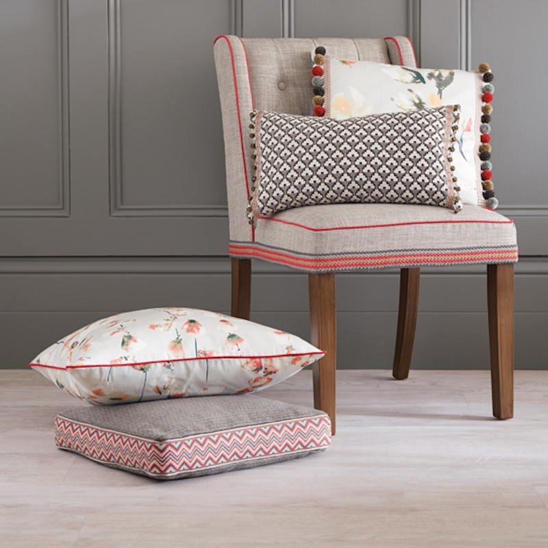 white oak plank armchair natural