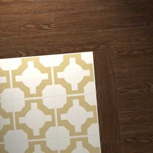 Vinyl Oak with gold design combo
