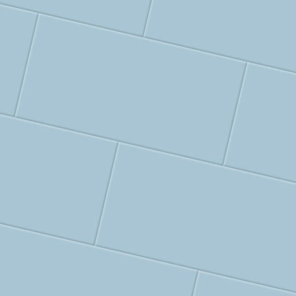 light blue vinyl floor tiles