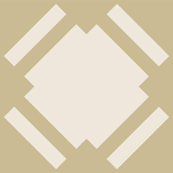 Ochre Floor Tile