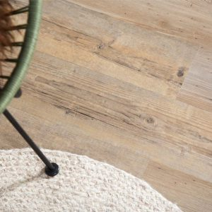 coppice wood effect floor plank with cream rug