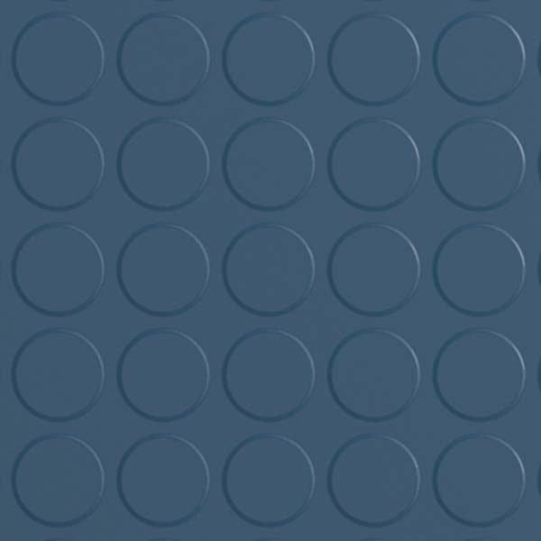 blue rubber flooring