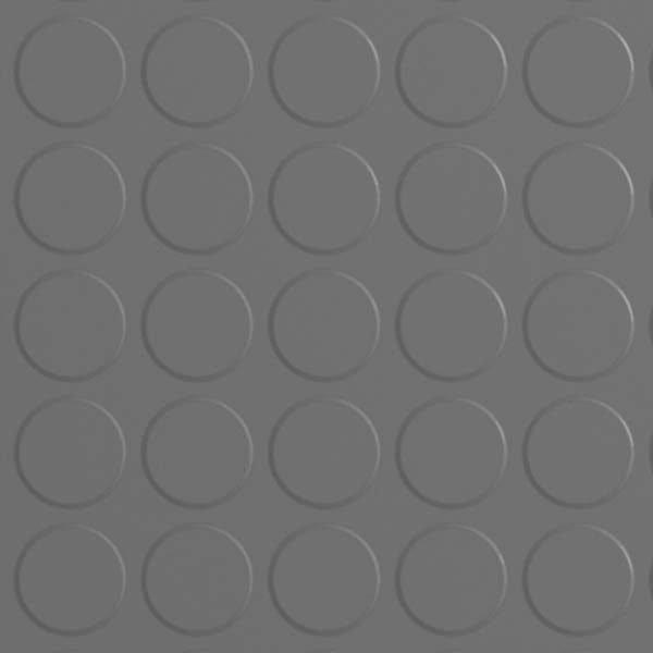 grey rubber dimple floor tiles