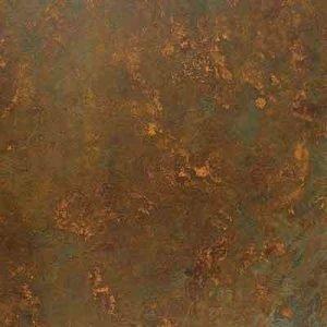 rusted steel effect flooring dark