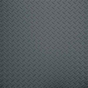 dark gunmetal tread plate vinyl flooring