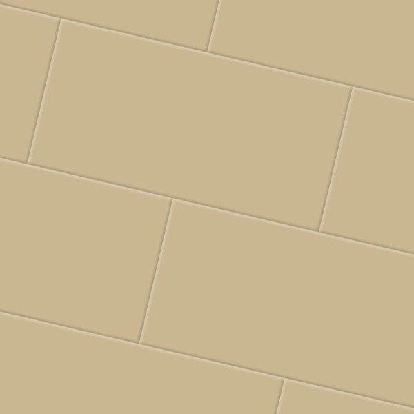 Golden yellow floor tiles