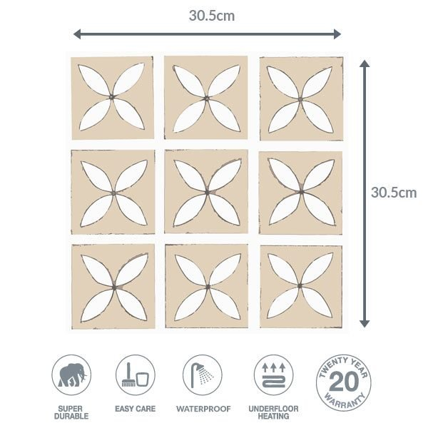 Hay Field flooring dimensions