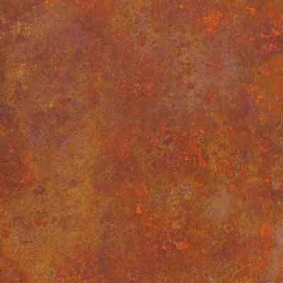 orange steel effect vinyl tile
