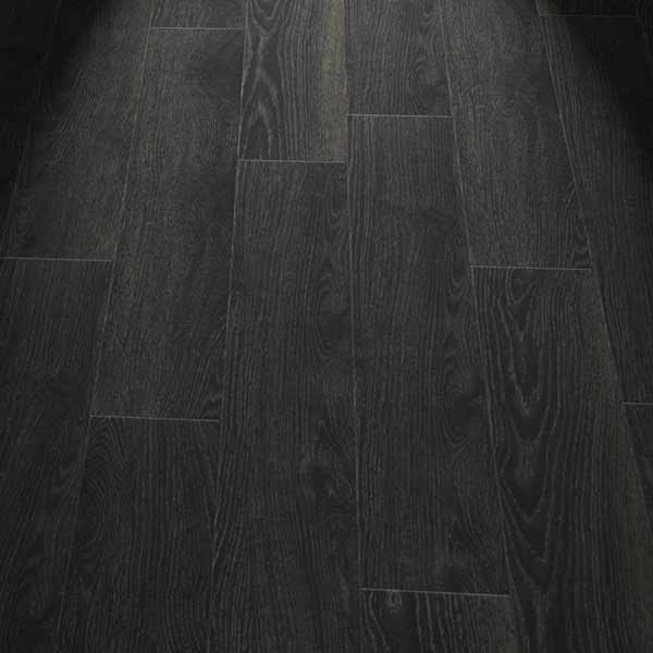 black wood effect planks