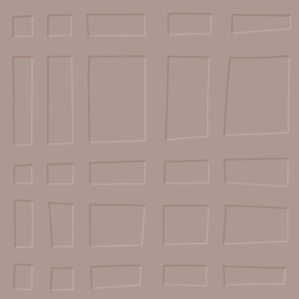 Mink grid rubber floor tile