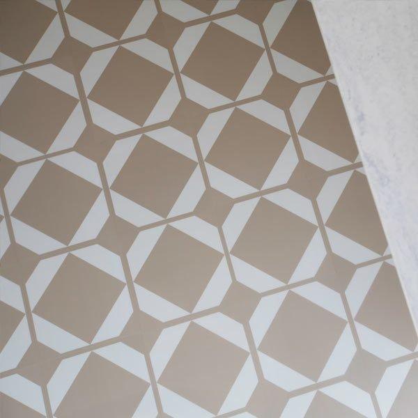yellow ochre kitchen floor tiles