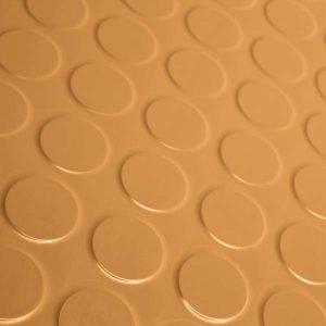 orange rubber dimples flooring