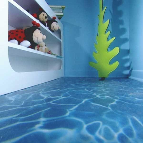 Pacific Water Effect Vinyl Flooring
