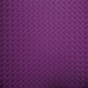 purple tread plate flooring