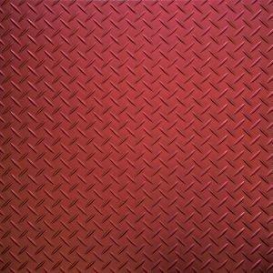 red tread plate flooring