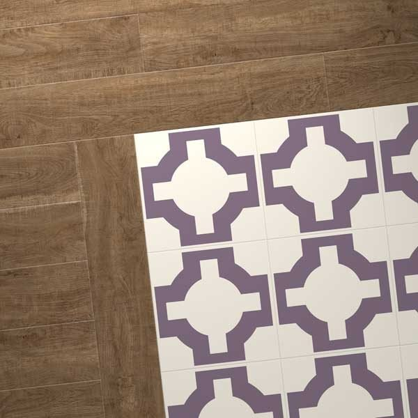 oak vinyl combo purple design
