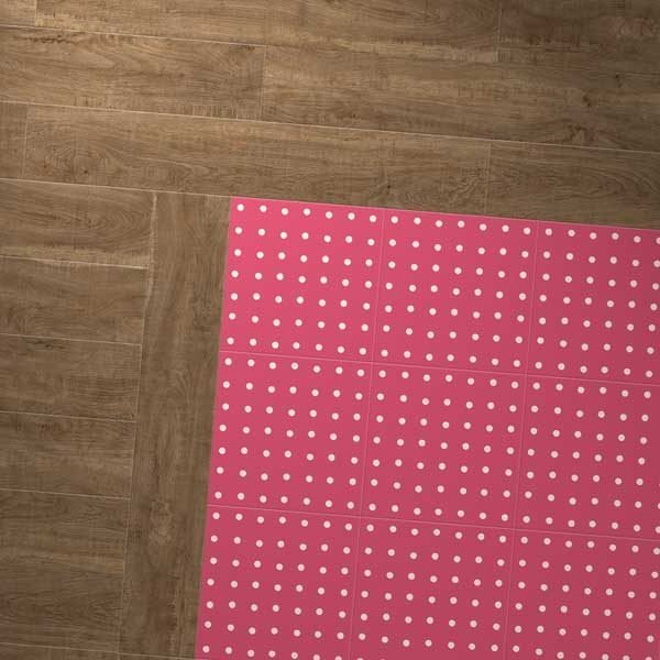 oak planks combo with spot red